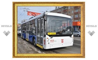 Туляков будет перевозить троллейбус за 6 миллионов рублей
