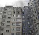 На пожаре в Заречье пострадал мужчина