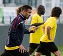 «Арсенал» провел предыгровую тренировку в Екатеринбурге