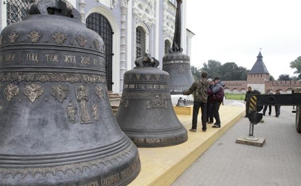Колокола Успенского собора будут именными