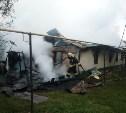 На пожаре в Чернском районе погиб мужчина