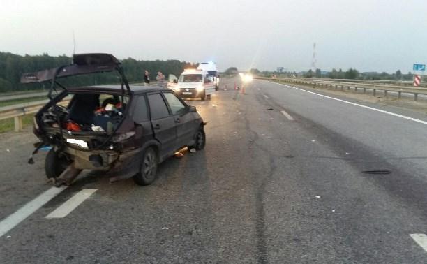 В аварии на М4 «Дон» пострадал семилетний ребенок