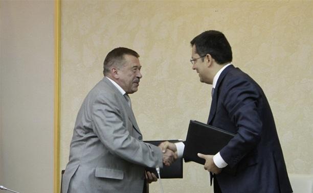 Правительство Тульской области договорилось о сотрудничестве со «Станкопромом»