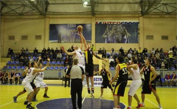 Тульские баскетболисты дважды уступили в Ярославле