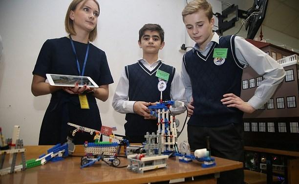 В Туле проходит конкурс роботов «Мысли смело!»