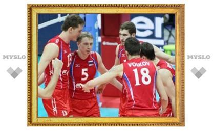 Российские волейболисты разгромили бразильцев в финальном турнире Мировой лиги