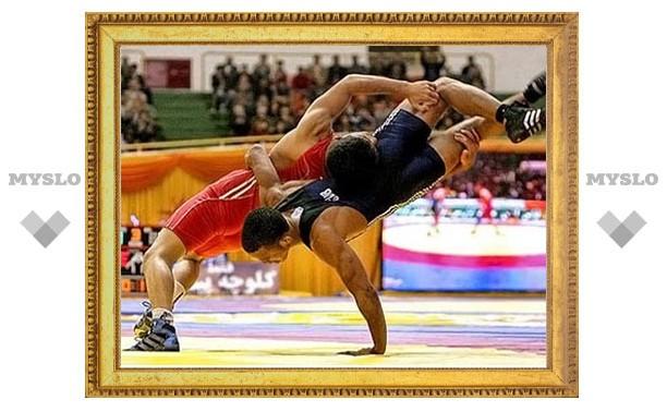 Тульские борцы завоевали шесть медалей