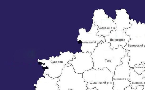 В каких городах и селах Тульской области есть COVID-19: карта на 9 июля