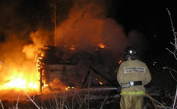 В Новогоднюю ночь в Тульской области потушили три пожара