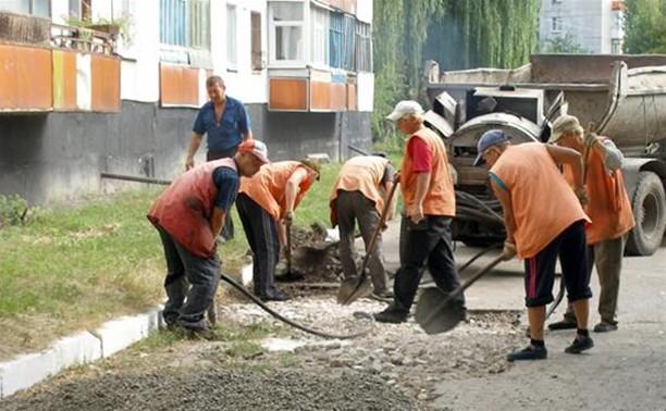 Программу «100 дворов Тулы» растянули на 2 года