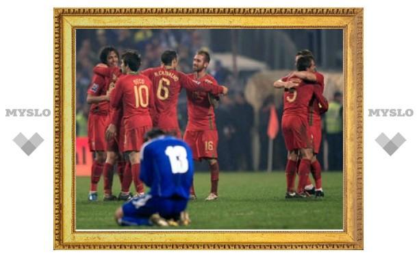 Определились все участники чемпионата мира по футболу 2010 года