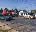В аварии на проспекте Ленина пострадала женщина