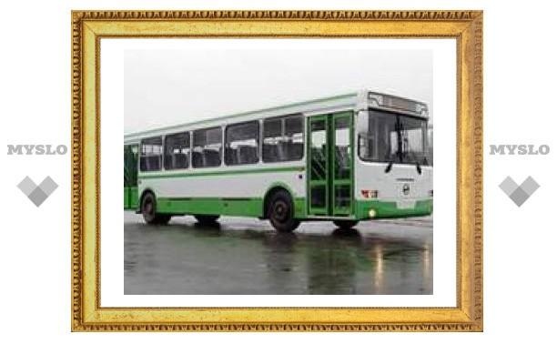Тульские автобусы сменили маршруты