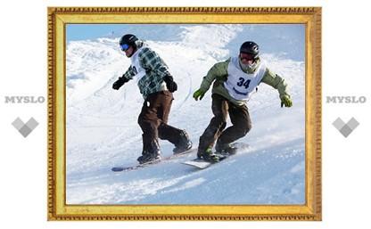 Тульские горнолыжники и сноубордисты разыграли Кубок области