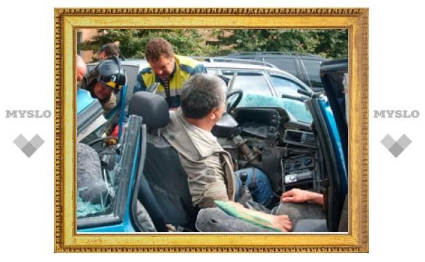Скончался водитель протараненной BMW Х5 легковушки
