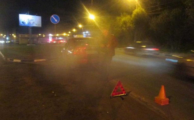 В Туле на улице Болдина в ДТП пострадали два человека