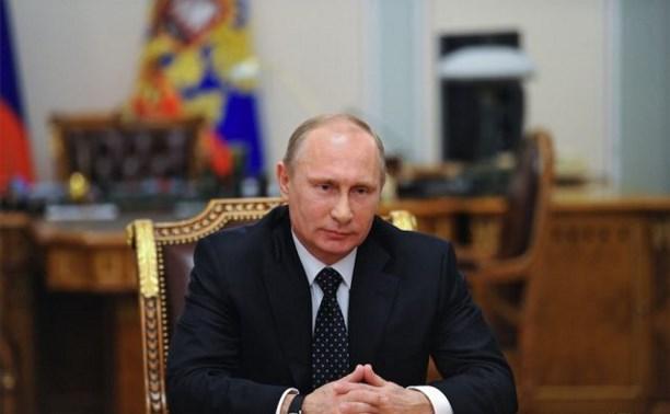 Тульские врачи получили награды от Владимира Путина