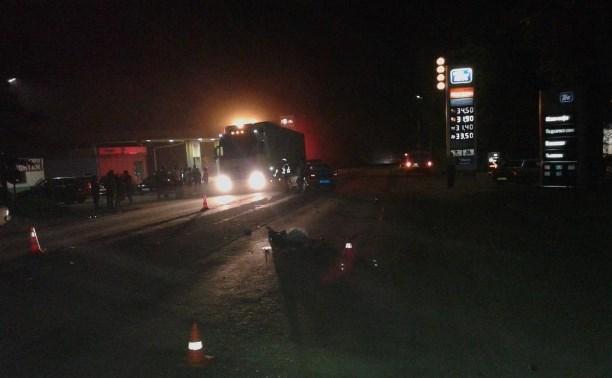 В Новомосковске пьяный водитель «Мазды» сбил парня-скутериста с пассажиркой