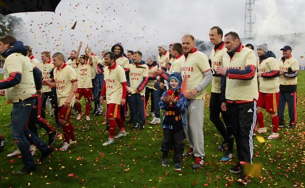 «Арсенал» подарил болельщикам пиротехническое шоу