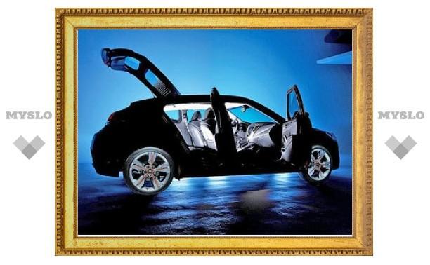 Компания Hyundai показала новую фотографию маленького купе