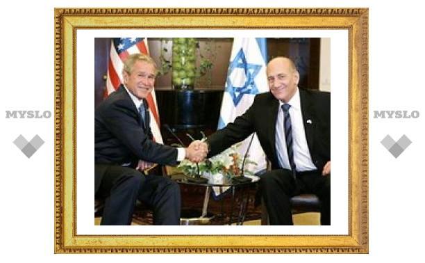 """Буш заявил в Иерусалиме, что США - лучший друг Израиля и обещал помочь в борьбе с """"Хамасом"""" и Ираном"""