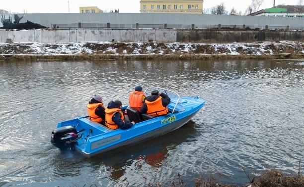 Евгений Авилов проверил наличие заторов на Упе