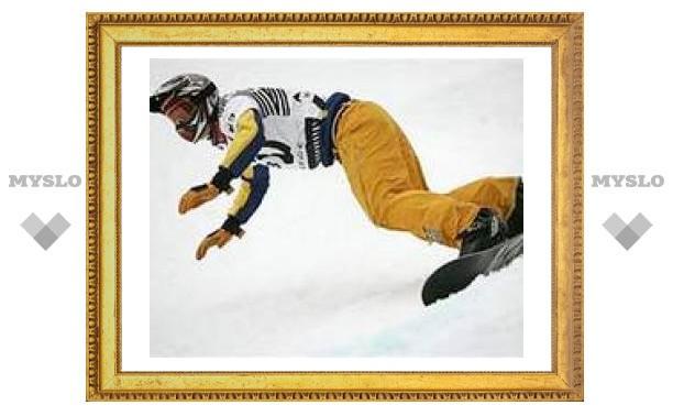 Тульские сноубордисты остались без медалей