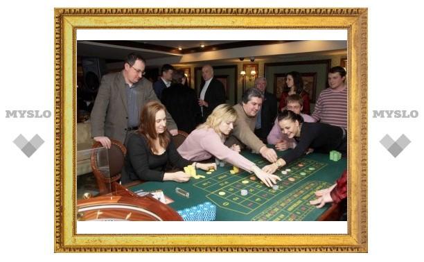 В деревне под Тулой работало настоящее казино