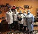 Врачи тульских клиник посетили Хитровщинский дом милосердия