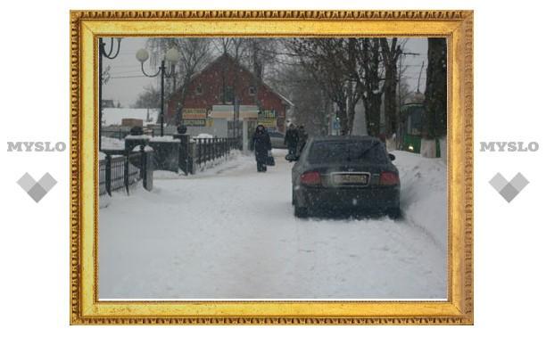 """В """"своем"""" районе Тулы где хочу, там и паркуюсь!?"""