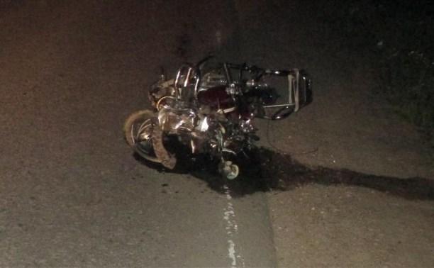 В аварии в Тульской области погиб скутерист