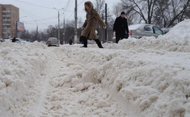 Предупреждение МЧС: 2 декабря на территории Тульской области до -8, метель и снежные заносы