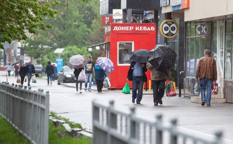Выходные в Тульской области будут мокрыми, но теплыми