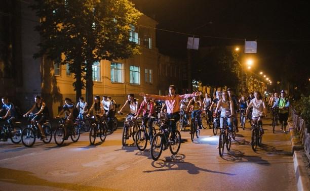 Тульских велосипедистов приглашают на ночной парад