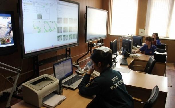 Замминистра МЧС проверил ход внедрения АПК «Безопасный город» в Тульской области