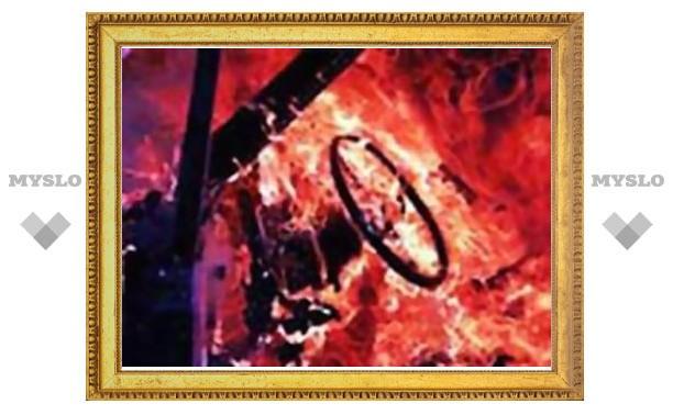 Под Полтавой женщина сожгла машину милиционера