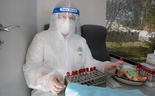 В Тульской области снижается суточный прирост заболевших коронавирусом