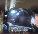 В Туле водитель Audi съехал с дороги и врезался в дерево