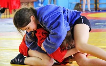Тульская самбистка выиграла золото первенства России