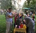 Самовар, сушки и «свободный микрофон»: в Пролетарском районе прошел праздник двора