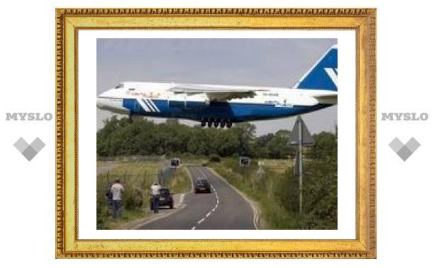 Самый большой в мире военный самолет пролетит над Красной площадью