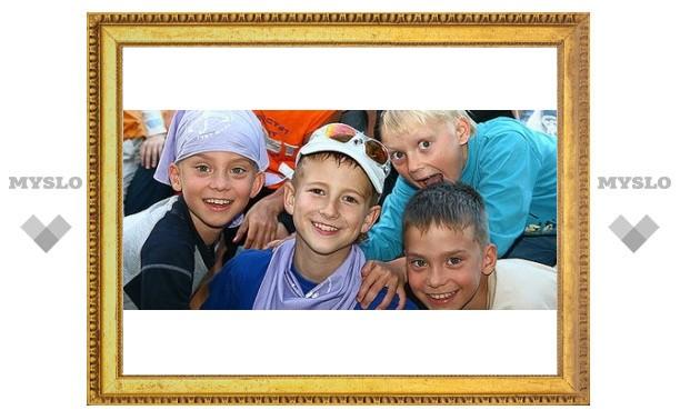 Кимовск открыл сезон летних лагерей