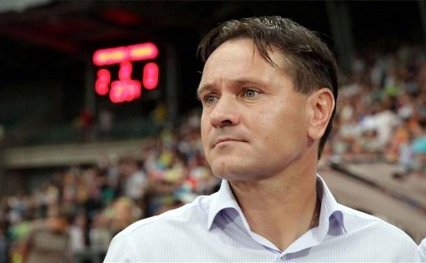Дмитрий Аленичев прокомментировал запрет на проведение домашнего матча в Туле