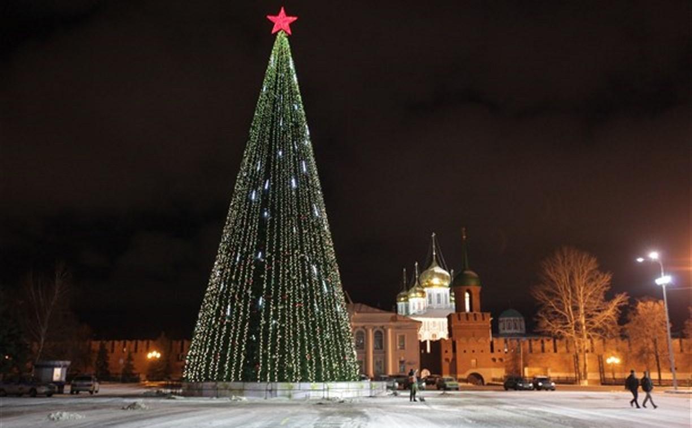 Тульская новогодняя ёлка будет стоить больше 7 млн рублей