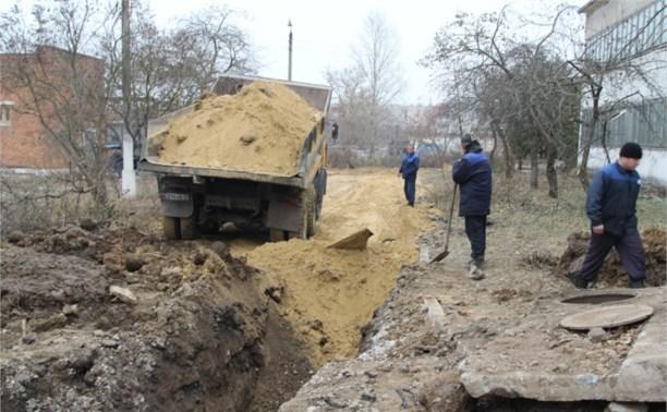 На Косой Горе закончили ремонт водопровода