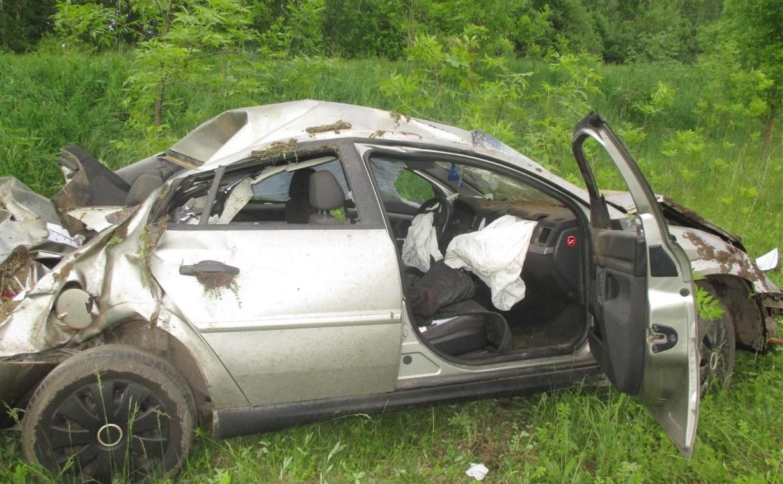 За сутки на тульских дорогах в «перевертышах» пострадали два человека