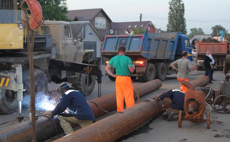 Холодное водоснабжение в Привокзальном районе Тулы полностью восстановлено