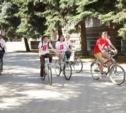 """Тульские студенты устроили акцию """"Здесь должна быть велопарковка"""""""