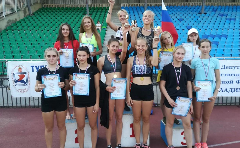 В Туле прошли областные соревнования по эстафетному бегу