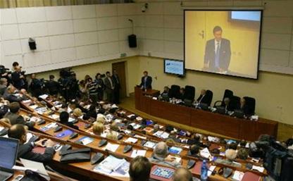 На расширенном заседании Тульской общественной палаты подвели итоги 2013 года